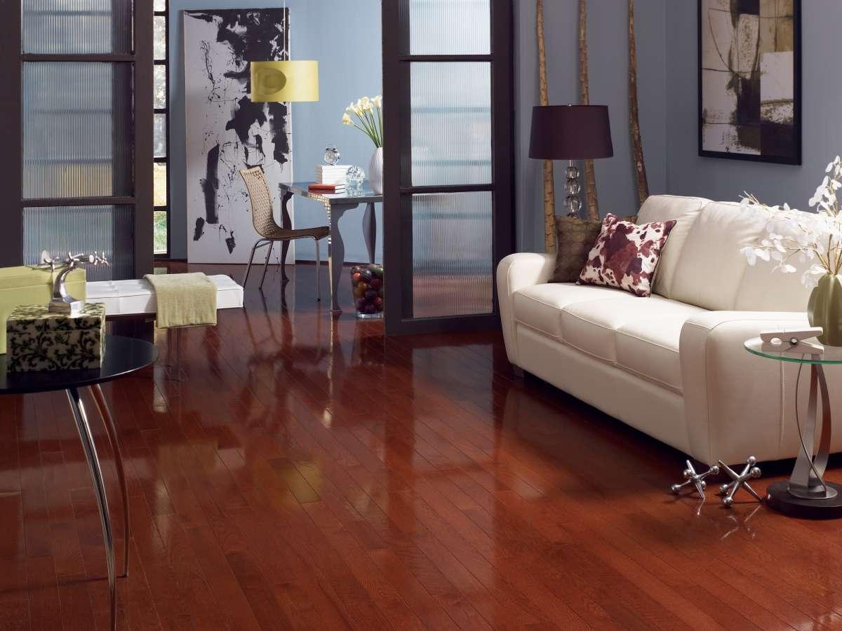 High Gloss Wood Flooring Sheen