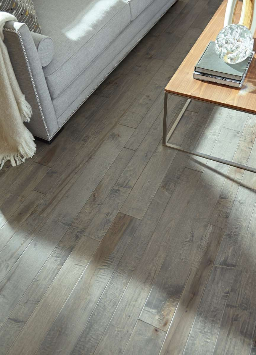 Somerset Hardwood Flooring works with three varieties of Appalachian hardwood: oak, maple and hickory.